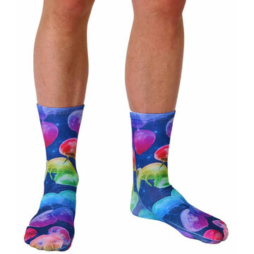 Living Royal Mens Jellyfish Crew Sock