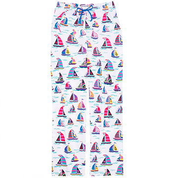 Hatley Women's Pretty Sailboats Pajama Pant