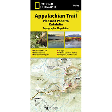 Appalachian Trail, Pleasant Pond to Katahdin [Maine] by National Geographic