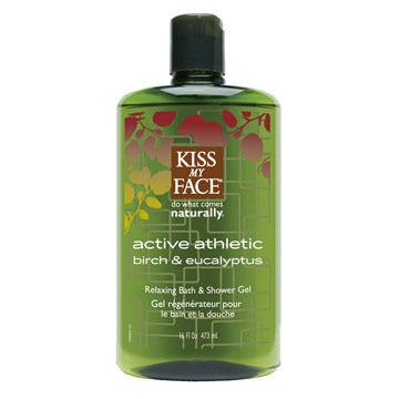 Kiss My Face Active Athletic Shower & Bath Gel