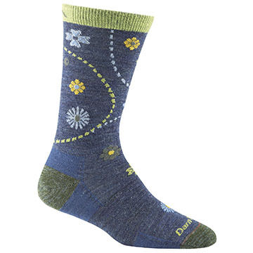 Darn Tough Vermont Womens Garden Light Crew Sock