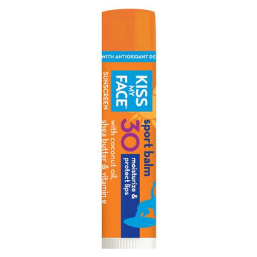 Kiss My Face Sport SPF30 Sunscreen Lip Balm