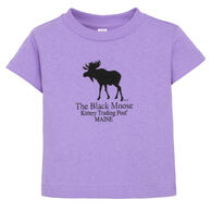 Original Design Infant Kittery Trading Post Black Moose Short-Sleeve T-Shirt