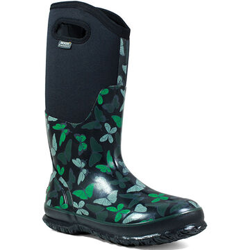 Bogs Womens Classic Butterfly Insulated Boot