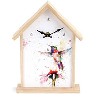 Big Sky Carvers Hummingbird Birdhouse Clock