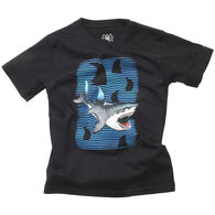 Wes And Willy Boy's Feeding Frenzy Short-Sleeve T-Shirt