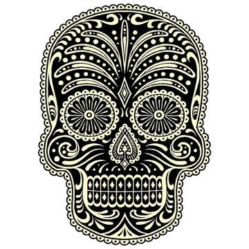 Sticker Cabana Skull Sticker