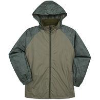 Kenpo Men's i5 Nylon Full-Zip Hooded Jacket