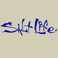 Salt Life Signature Small Decal - Royal