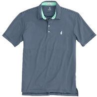 johnnie-O Men's Merrins Striped PREP-FORMANCE Pique Short-Sleeve Polo Shirt