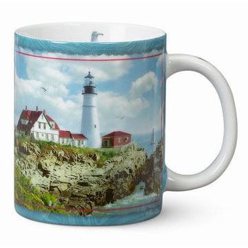 Cape Shore Portland Head Lighthouse Mug