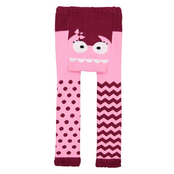 Doodle Pants Toddler Girls Pink Monster Legging