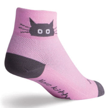 SockGuy Women's Whiskers Bicycling Sock