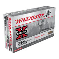 Winchester Super-X 264 Winchester Mag 140 Grain Power-Point Rifle Ammo (20)
