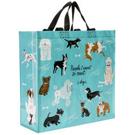 Blue Q Women's People I Want To Meet: Dogs Shopper Tote Bag