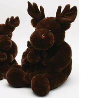 Unipak Designs Plush Jolie Moose And Baby