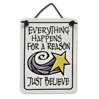 "Spooner Creek ""Just Believe"" Mini Charmers Tile"