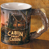 Wild Wings Cabin Sweet Cabin Mug