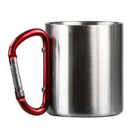 Life+Gear Double-Wall Stainless Steel Carabiner Camp Mug