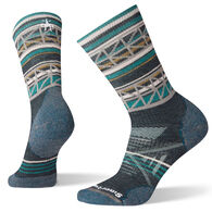 SmartWool Women's PhD Outdoor Medium Cushion Pattern Crew Sock