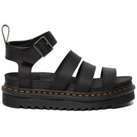 Dr. Martens AirWair Women's Blaire Hydro Leather Gladiator Sandal