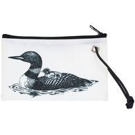 Sea Bags Women's Loon Print Wristlet