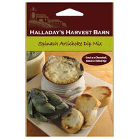 Halladay's Harvest Barn Spinach Artichoke Dip Mix