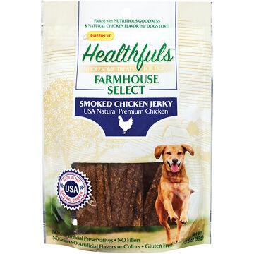 Ruffin It Healthfuls Smoked Chicken Jerky Dog Treat - 3.5 oz.