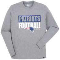 47 Brand Men's New England Patriots FB Patriot Head Long-Sleeve T-Shirt