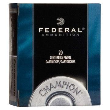 Federal Champion 32 H&R Magnum 95 Grain Lead Semi-Wadcutter Handgun Ammo (20)