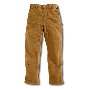 Carhartt Mens 12 oz. Cotton Duck Double Front Pant