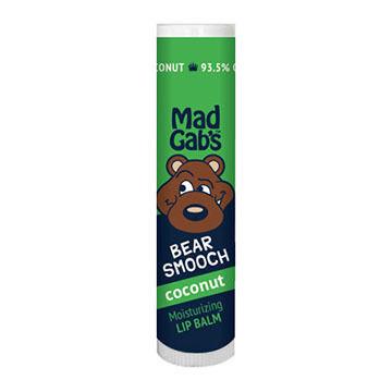 Mad Gab's Coconut Bear Smooch Stick Lip Balm