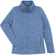 Stillwater Supply Women's Sweater Knit Full-Zip Jacket