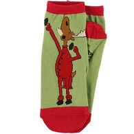Lazy One Women's Almoose Asleep Slipper Sock