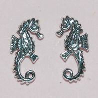 Semaki & Bird, Ltd. Women's Sterling Silver Seahorse Earring