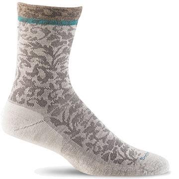 Goodhew Sockwell Womens Plantar Cushioned Crew Sock