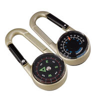 Munkees Carabiner Compass w/ Thermometer