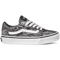 Vans Boys' Ward Canvas Digi Camo Sneaker