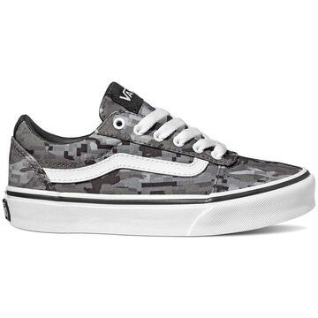 Vans Boys Ward Canvas Digi Camo Sneaker
