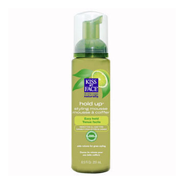 Kiss My Face Hold Up Styling Mousse w/ Organic Botanicals