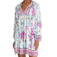 Johnny Was Women's Belladonna Long-Sleeve Cover Up