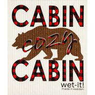 Wet-it! Swedish Cloth - Cabin Cozy Cabin