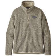 Patagonia Women's Better Sweater 1/4-Zip Fleece Pullover