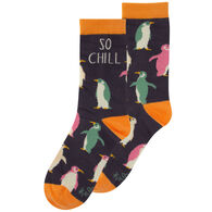 Karma Women's Penguin Crew Sock