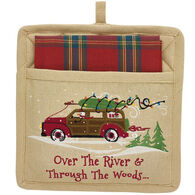 Park Designs Through The Woods Pocket Potholder Set