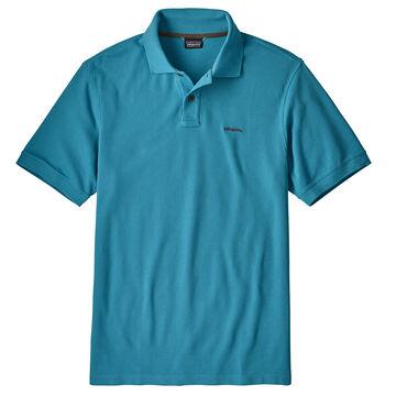 Patagonia Mens Belwe Pique Polo Short-Sleeve Shirt