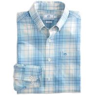 Southern Tide Men's Gibbes Island Plaid Long-Sleeve Shirt