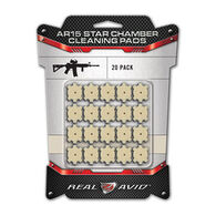 Real Avid AR15 Star Chamber Cleaning Pad - 20 Pk.