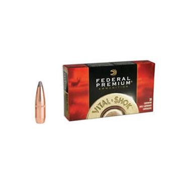 Federal Premium Vital-Shok 7mm Remington Magnum 150 Grain Sierra GameKing BTSP Rifle Ammo (20)