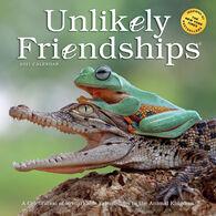 Unlikely Friendships 2021 Wall Calendar by Jennifer S. Holland